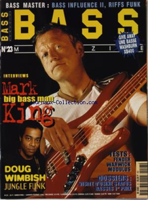 BASS MAGAZINE no:23 01/01/1999