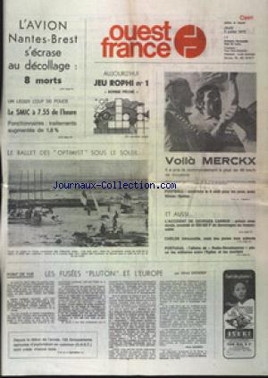 OUEST FRANCE CAEN no: 03/07/1975