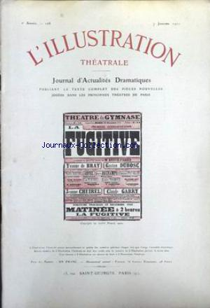 ILLUSTRATION THEATRALE (L') no:168 07/01/1911