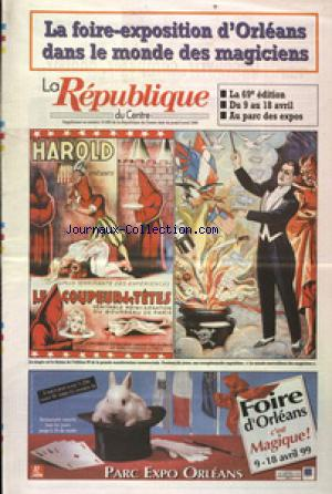 REPUBLIQUE DU CENTRE SUPPLEMENT(LA) no:15898 08/04/1999