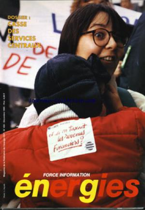 FORCE INFORMATION ENERGIE no:459 01/12/1995
