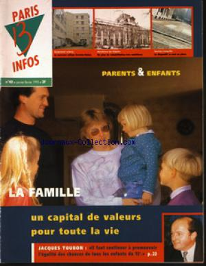 PARIS 13 INFOS no:40 01/01/1995