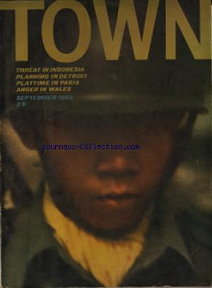 TOWN no:26 01/09/1963