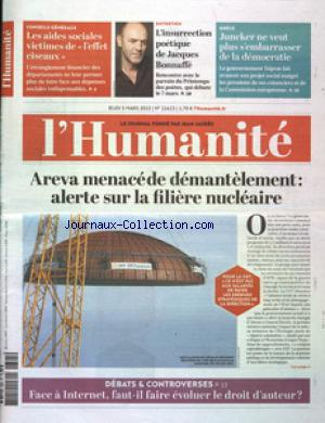 HUMANITE (L') no:21623 05/03/2015