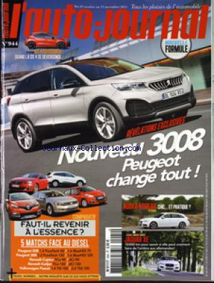 AUTO JOURNAL (L') no:944 29/11/2015