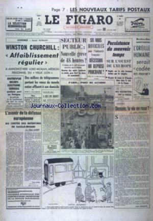 FIGARO EDITION NATIONALE DERNIERE (LE) no:6342 19/01/1965