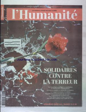 HUMANITE (L') no:21798 16/11/2015