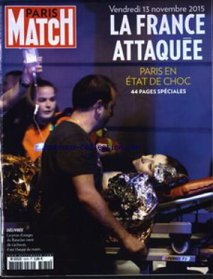 PARIS MATCH no:3470 16/11/2015