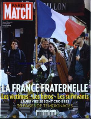 PARIS MATCH no:3471 26/11/2015