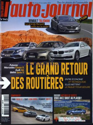 AUTO JOURNAL (L') no:945 12/11/2015