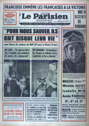 LE PARISIEN LIBERE EDITION DE PARIS (LE) no:7907 31/12/1970