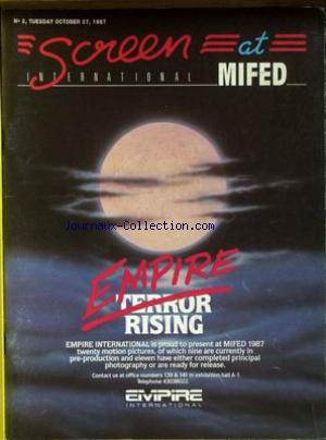 SCREEN INTERNATIONAL no:2 27/10/1987