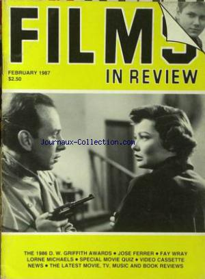 FILMS IN REVIEW no: 01/02/1987