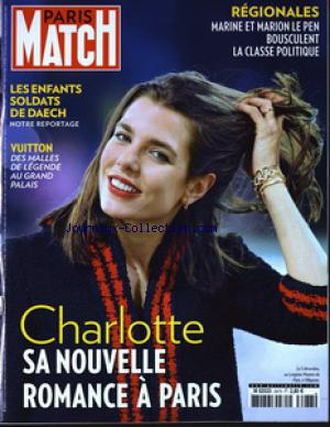 PARIS MATCH no:3473 10/12/2016