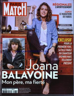PARIS MATCH no:3474 17/12/2015