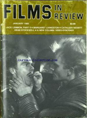 FILMS IN REVIEW no: 01/01/1985