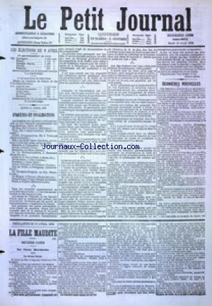 PETIT JOURNAL (LE) no:4855 11/04/1876