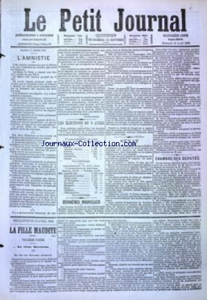 PETIT JOURNAL (LE) no:4856 12/04/1876