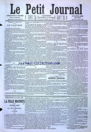 PETIT JOURNAL (LE) no:4859 15/04/1876