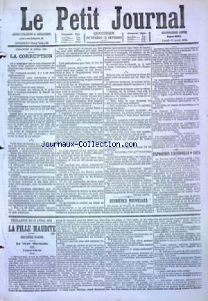 PETIT JOURNAL (LE) no:4861 17/04/1876