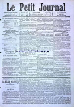 PETIT JOURNAL (LE) no:4862 18/04/1876