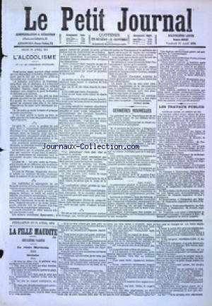 PETIT JOURNAL (LE) no:4865 21/04/1876