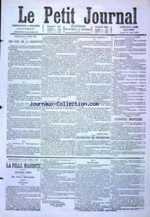 PETIT JOURNAL (LE) no:4868 24/04/1876
