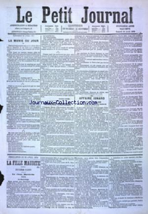 PETIT JOURNAL (LE) no:4873 29/04/1876