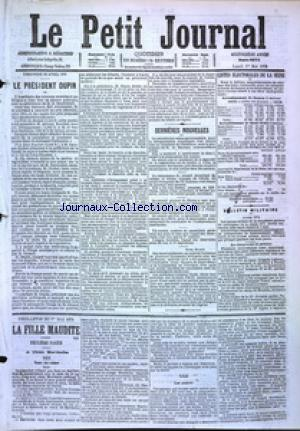 PETIT JOURNAL (LE) no:4875 01/05/1876