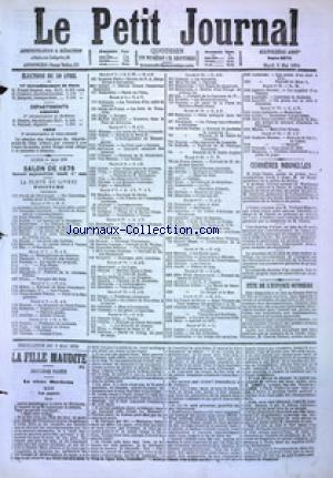 PETIT JOURNAL (LE) no:4876 02/05/1876