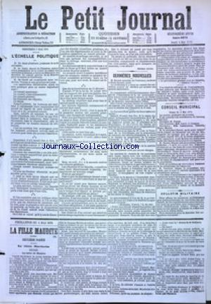 PETIT JOURNAL (LE) no:4878 04/05/1876