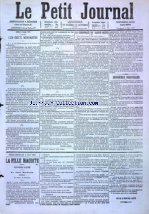PETIT JOURNAL (LE) no:4879 05/05/1876