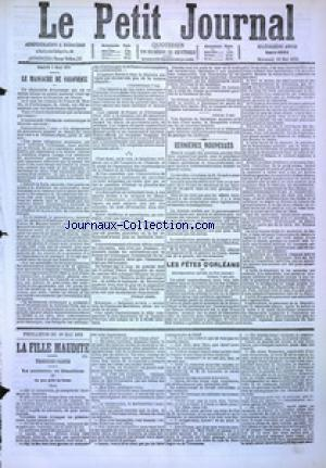 PETIT JOURNAL (LE) no:4884 10/05/1876