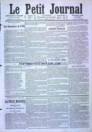 PETIT JOURNAL (LE) no:4885 11/05/1876