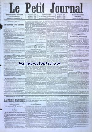 PETIT JOURNAL (LE) no:4887 13/05/1876