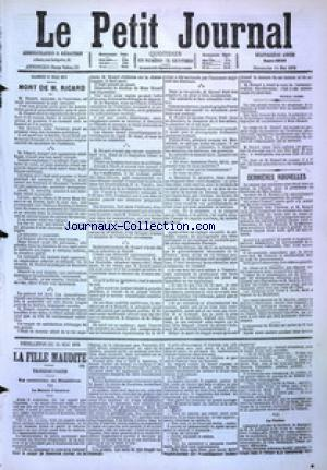 PETIT JOURNAL (LE) no:4888 14/05/1876