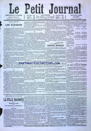 PETIT JOURNAL (LE) no:4890 16/05/1876