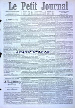 PETIT JOURNAL (LE) no:4892 18/05/1876