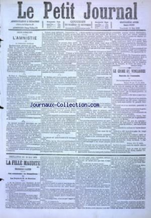 PETIT JOURNAL (LE) no:4893 19/05/1876