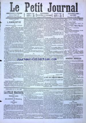 PETIT JOURNAL (LE) no:4895 21/05/1876