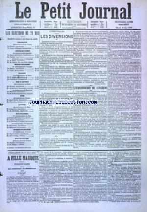 PETIT JOURNAL (LE) no:4897 23/05/1876
