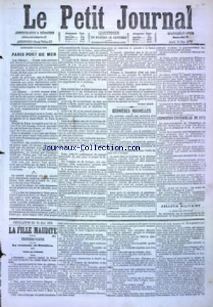PETIT JOURNAL (LE) no:4899 25/05/1876