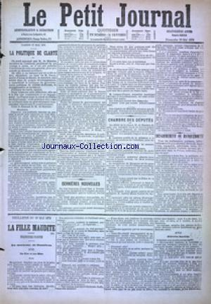 PETIT JOURNAL (LE) no:4902 28/05/1876