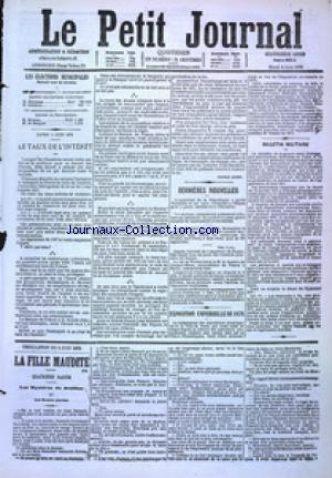PETIT JOURNAL (LE) no:4911 06/06/1876