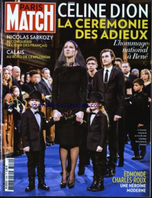 PARIS MATCH no:3480 28/01/2016