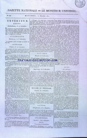 GAZETTE NATIONALE OU LE MONITEUR UNIVERSEL no:346 12/12/1810