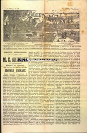 BULLETIN DE LA VENDEE (LE) no:23 05/06/1897