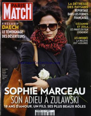 PARIS MATCH no:3484 25/02/2016