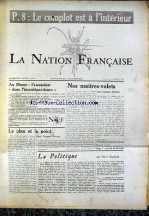 NATION FRANCAISE (LA) no:74 06/03/1957