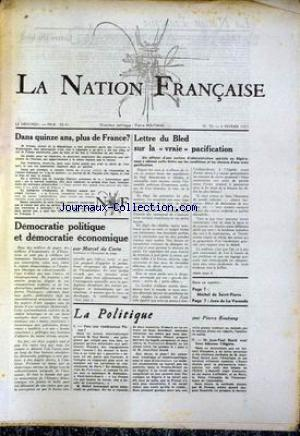 NATION FRANCAISE (LA) no:70 06/02/1957